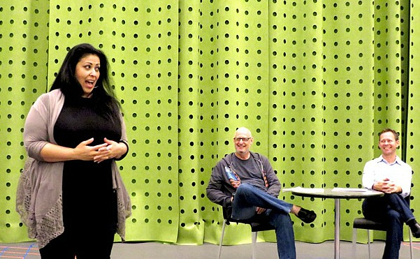 Christie Vela teaching acting-edit