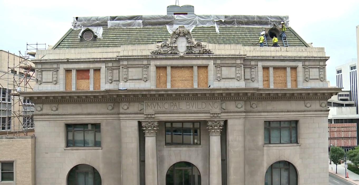 The Lost Murals of Dallas' Old Municipal Building | Art&Seek