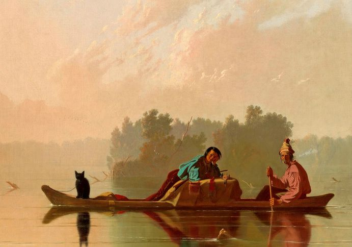 floating caleb bingham