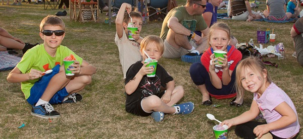 Nothing says summer like ice cream! Photo: City of Coppell