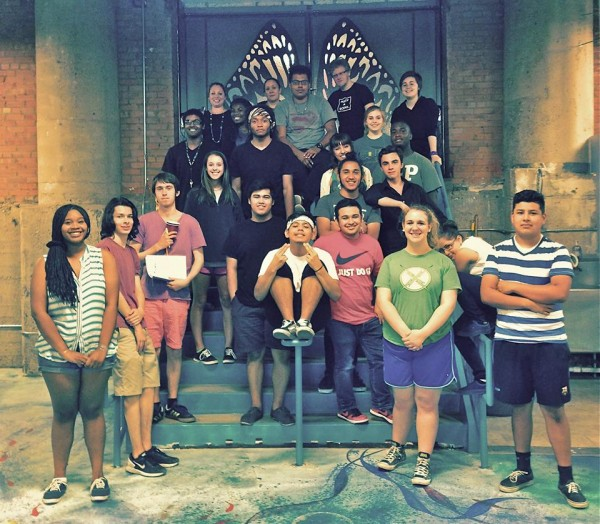 """The cast of """"The (out)Siders Project."""" Photo: Cry Havoc Theater Company"""