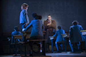 Revolting children verses Miss Trunchbull. Photo: Joan Marcus