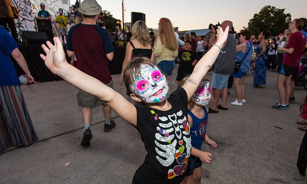 Live it up at Denton's Day of the Dead Festival Photo: Ed Steele Photography