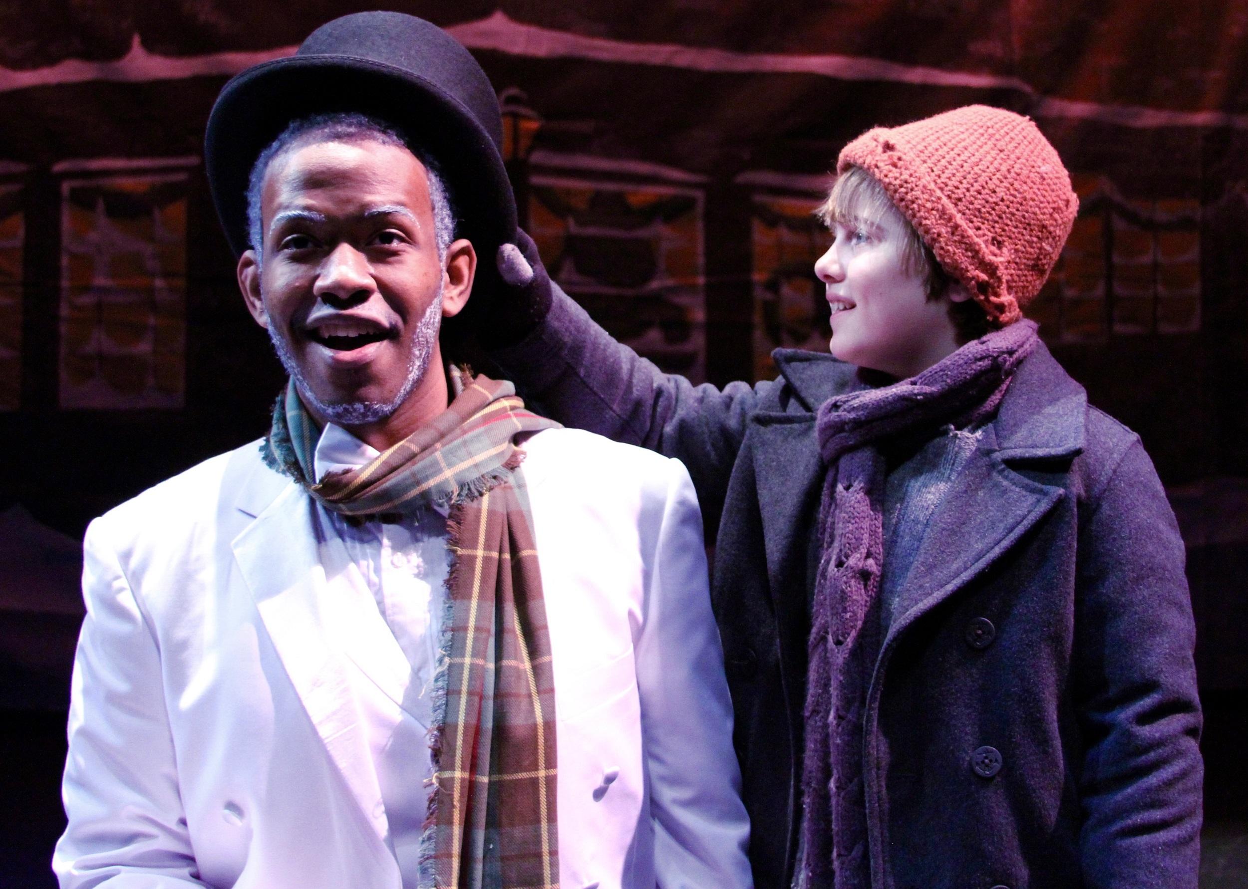 Patrick Clanton as Frosty and Stephen Newton as Billy Photo: Samuel Rushen