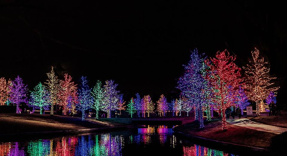 Now is the perfect time to see holiday light displays. Photo: Vitruvian Park