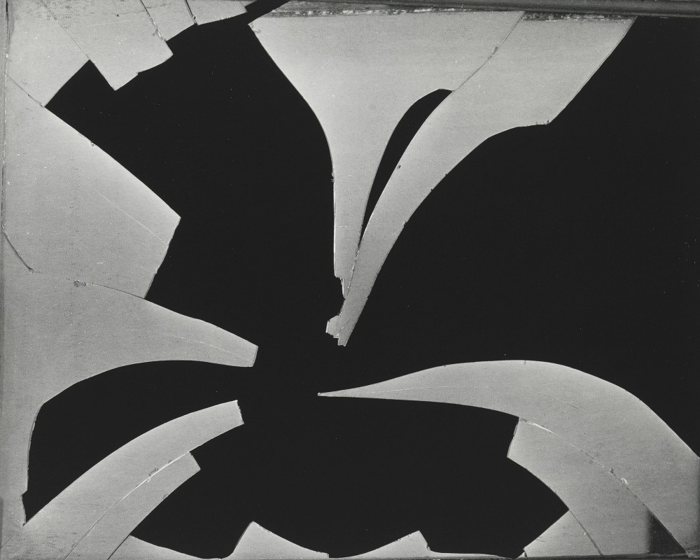 Brett Weston (1911-1993); Broken Window; ca. 1971; Gelatin silver print; Amon Carter Museum of American Art, Fort Worth, Texas, Gift of the Christian Keesee Collection; P2015.23