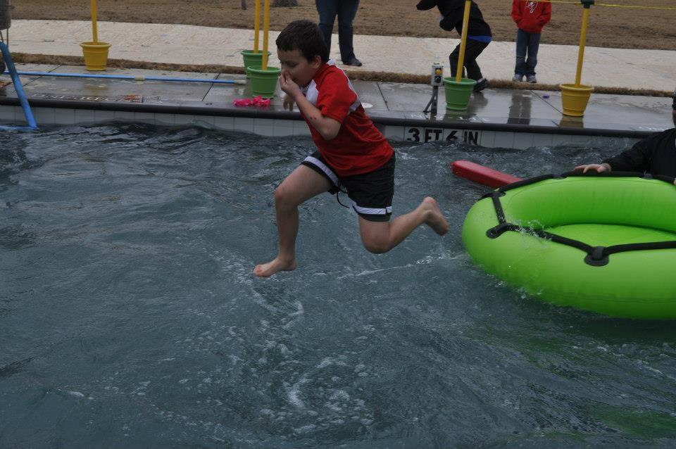 Take the plunge for Special Olympics of the Greater Fort Worth Area. Photo: NRH20 Family Water Park.