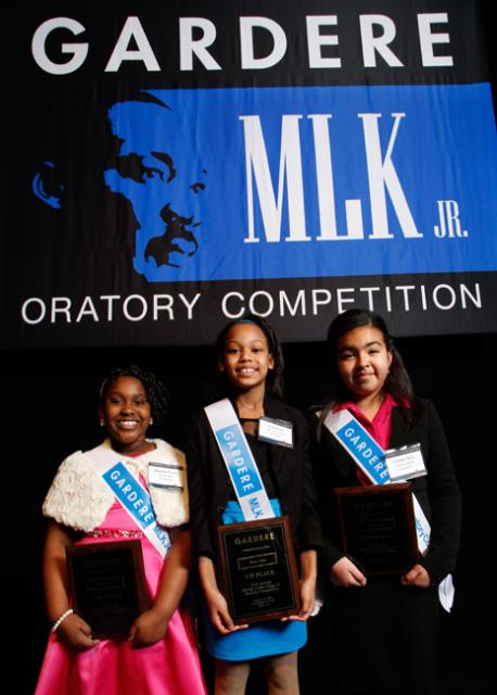 Be inspired at the Gardere MLK Jr. Oratory Competition. Photo: Gardere Wynne Sewell LLP