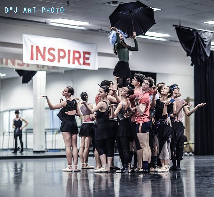 Rainy day blues ☔ Photo of The Concert by Jerome Robbins