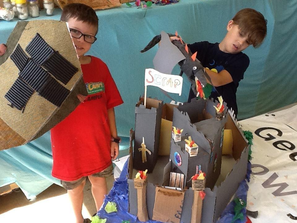 See where imagination leads at a SCRAP camp. Photo: SCRAP