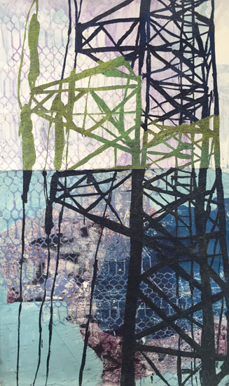 """Light on Tower"" by Sarah Wiseman."