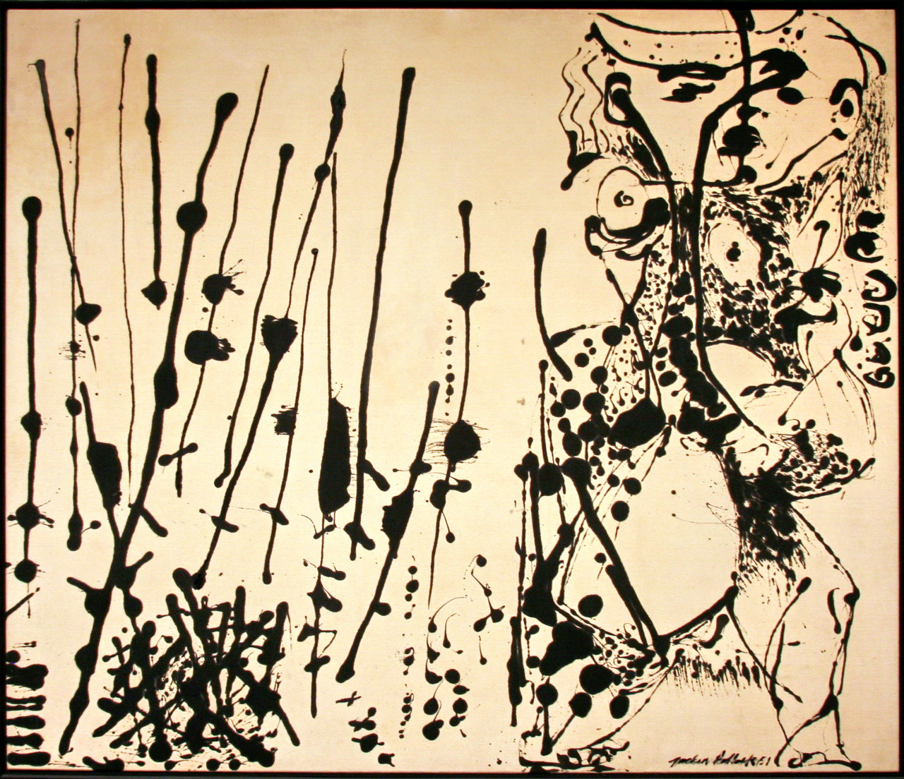 Last chance to see Pollock's black paintings at the DMA.
