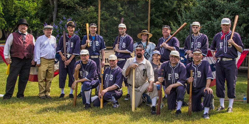 Cheer on your favorite team at the Base Ball Festival. Photo: Farmer's Branch Base Ball Club