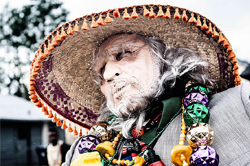 Mardi Gras Masking #6 by Giraud Polite