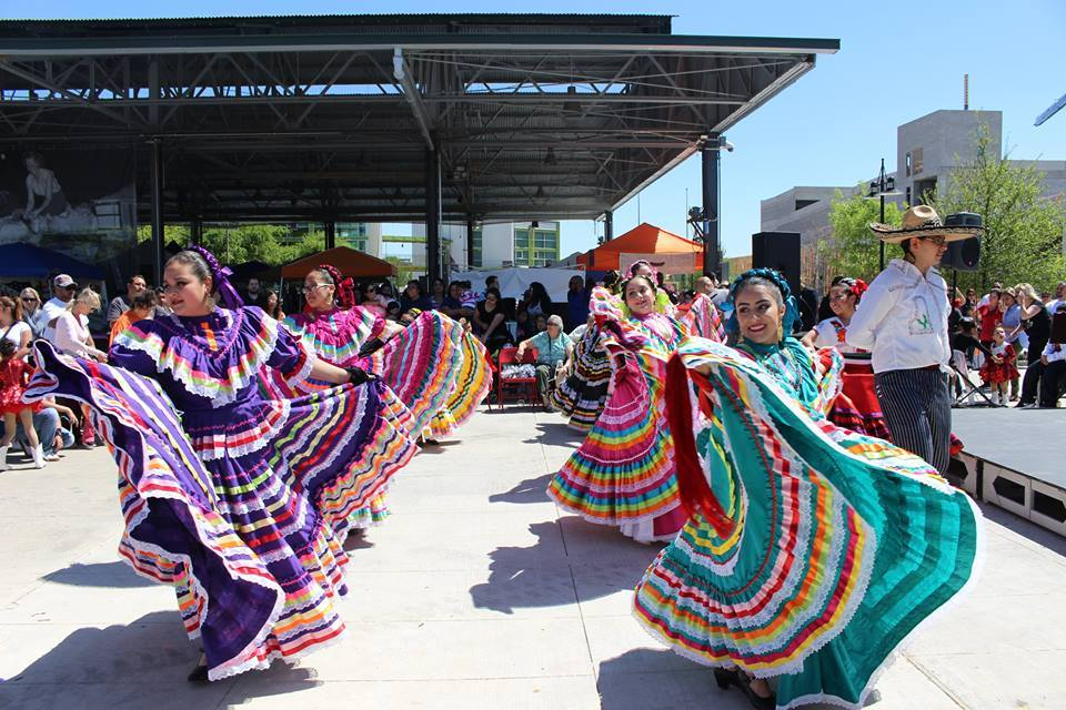 Watch a colorful folk dancing at the Latino Street Fest. Photo: Anita N. Martinez Ballet Folklorico