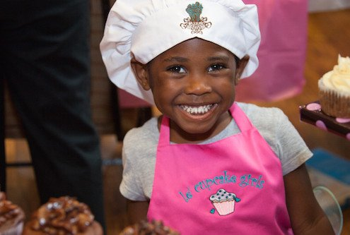 Bakers of all sizes want you to try their cupcakes at Cupcakes for a Cause. Photo: Cupcakes for a cause.