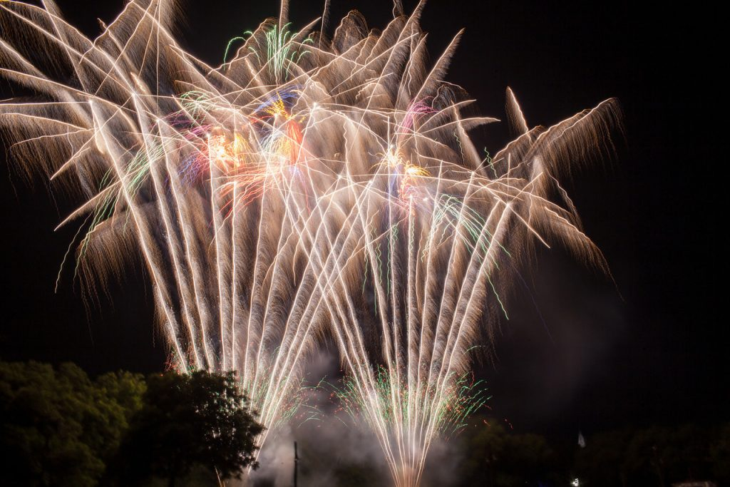 Enjoy a concert and a fireworks show this Saturday. Photo: City of Farmers Branch