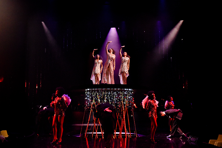 The cast of Dreamgirls (Photo: Karen Almond)