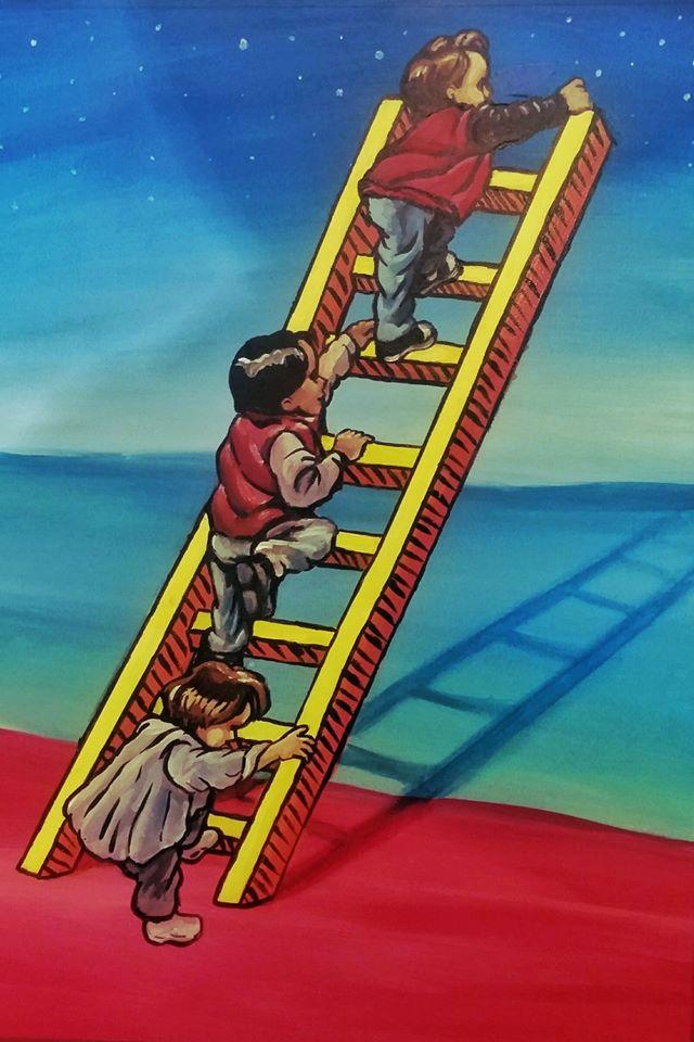 la escalera by Erik Espinoza