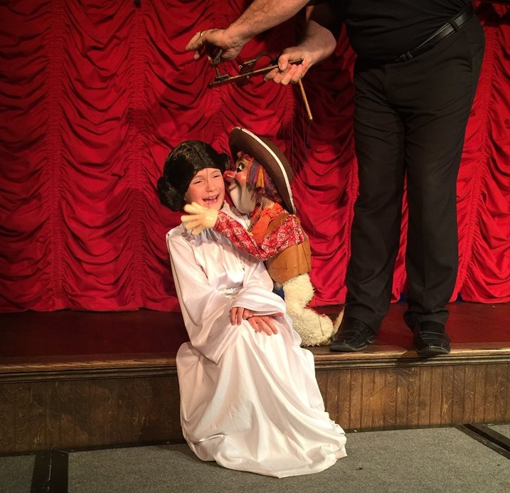 The Farce is with you at Gepetto's Theaters' Star Warp show. Photo: Gepetto's Theater and Workshop