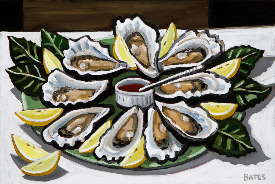 """Oysters"" by David Bates"