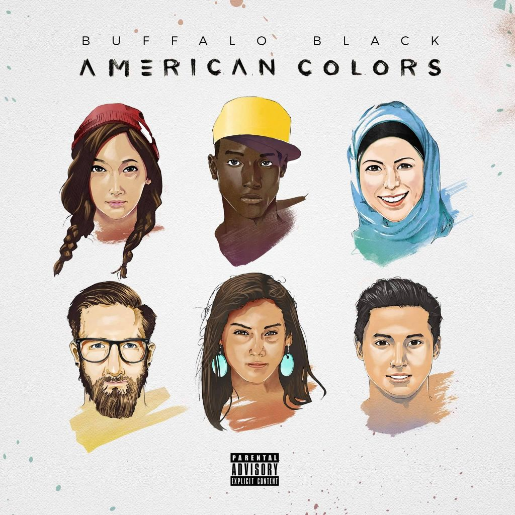 American Colors is a new single from Dallas hip-hop artist Buffalo Black.
