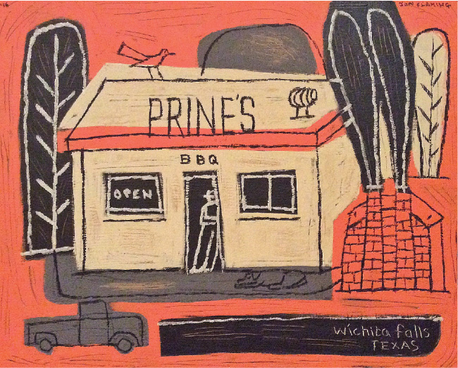 Prines in Wichita Falls by Jon Flaming