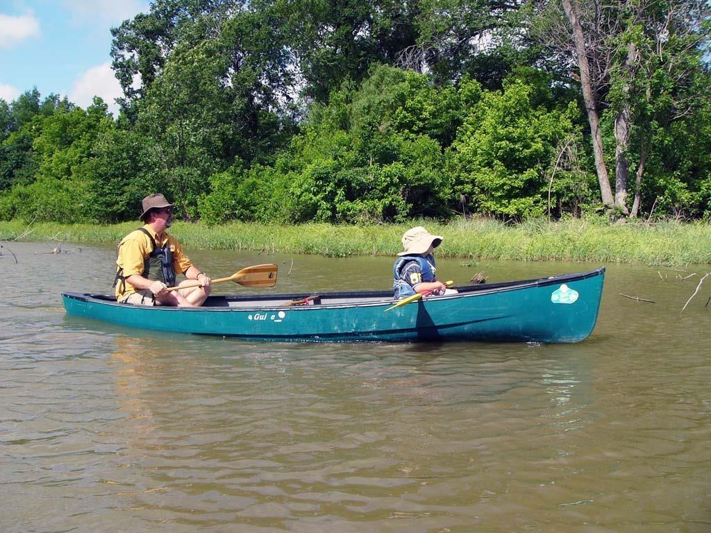 Make a splash at Canoe Fest. Photo: Fort Worth Nature Center and Refuge