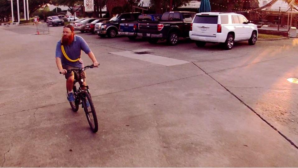 Casey rides to hasten his quest.