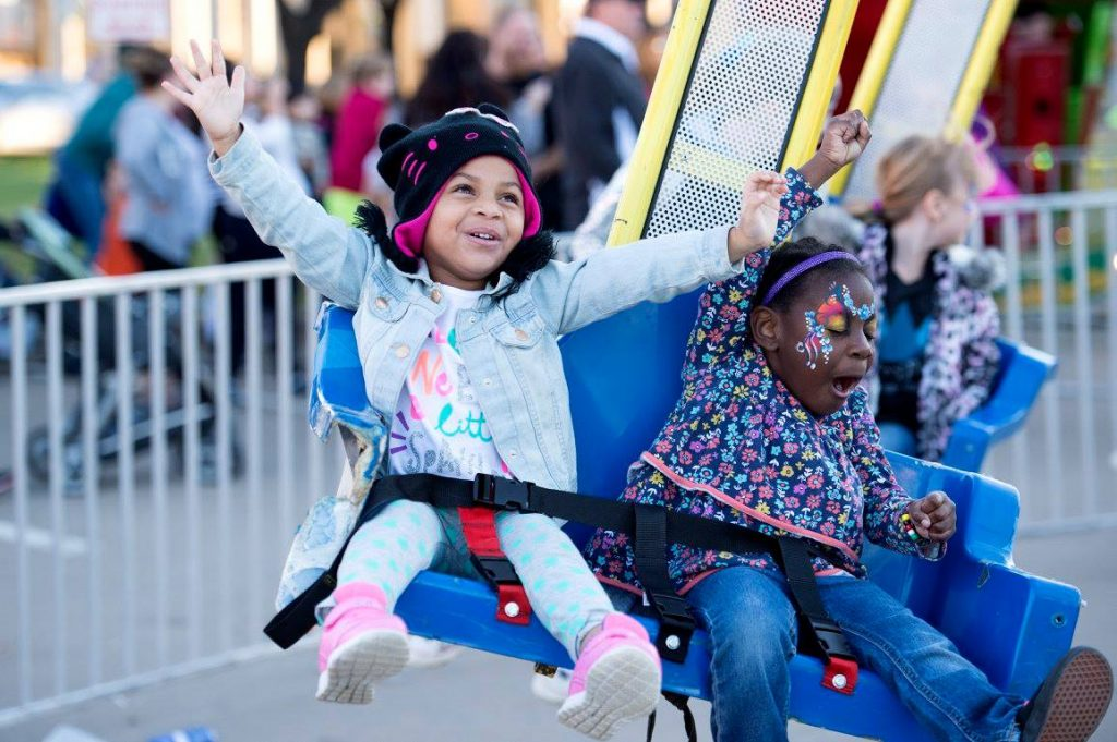 Wheeeeeee!!! Photo: Carrollton Festival at the Switchyard