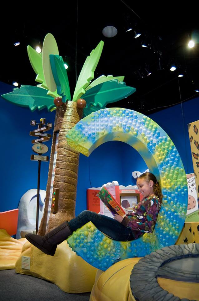 Step into a favorite book--literally, at the Fort Worth Museum of Science and History's latest exhibit.