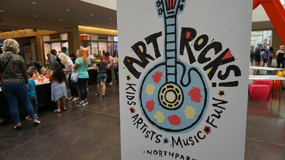Get inspired at ArtRocks! Photo: NorthPark Center