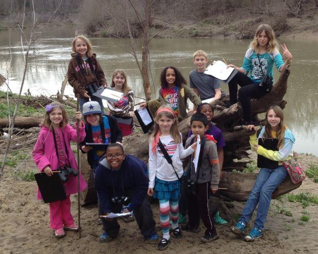Have a naturally good time at Spring Break Adventure Camp. Photo: Trinity River Audubon Center