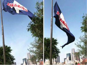 The original Dallas flag. (Photo: DHV's Facebook)