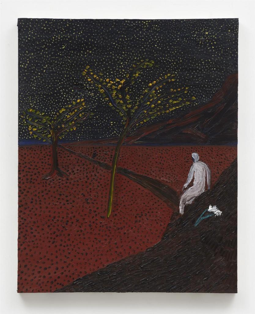 The West by Matthew Wong, bought through Dallas Art Fair
