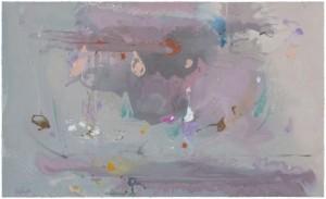 Helen Frankenthaler (1928–2011) Grey Fireworks, 2000
