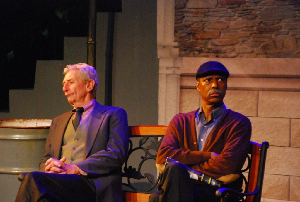 "Stan Kelly and Jerry Barrax in ""I'm Not Rappaport."" Photo: Mesquite Community Theatre"