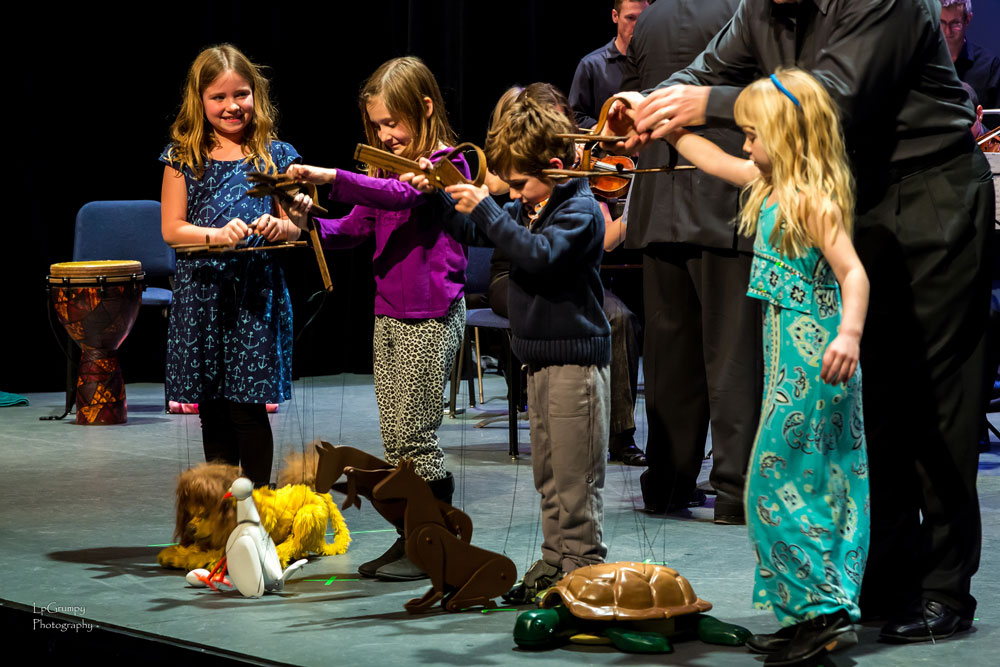 Make some new friends at the Bees, Flowers and something concert. Photo: LpGrumpy Photograhy/Plano Symphony Orchestra