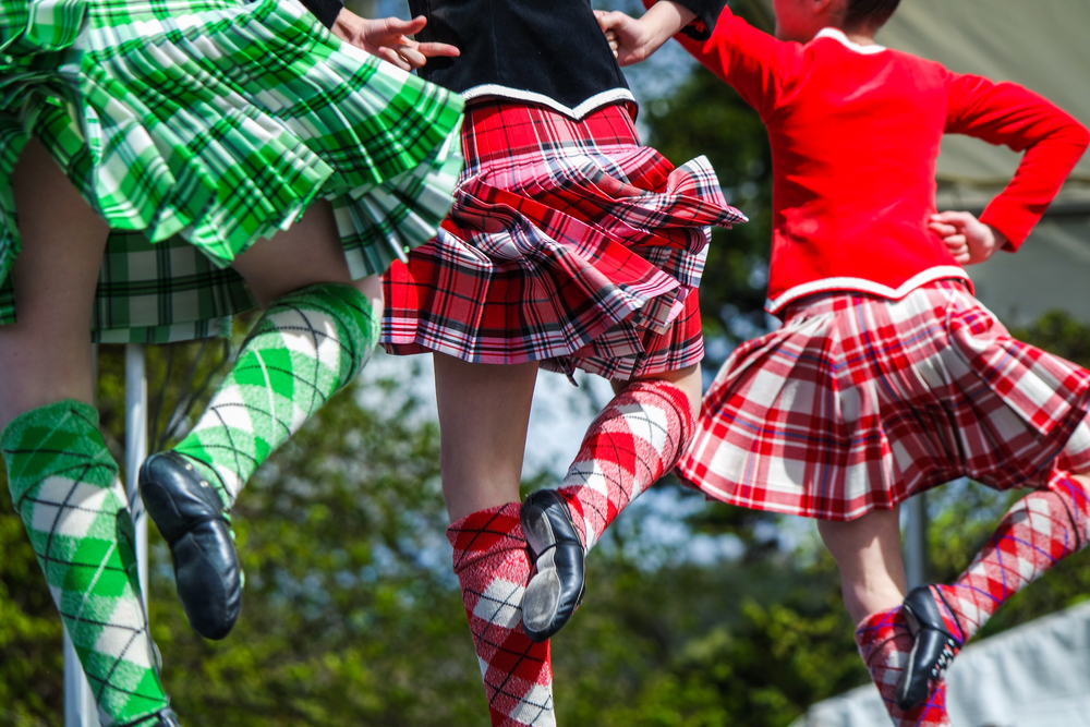 Watch colorful Scottish dancing at the 2017 Texas Scottish Festival & Highland Games. photo: shutterstock.com