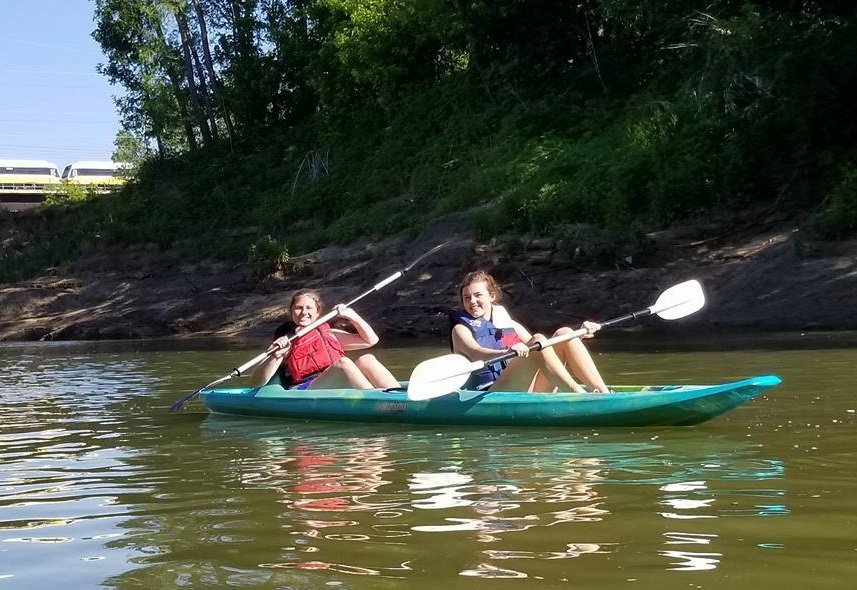 Have a river adventure this weekend. Photo: Trinity River Audubon Center