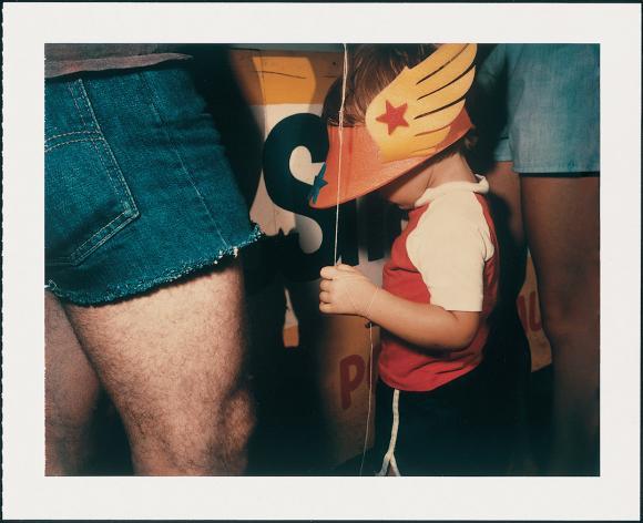 Barbara Crane (b. 1928) Private Views, 1981 Polaroid Polacolor 4x5 film Type 58