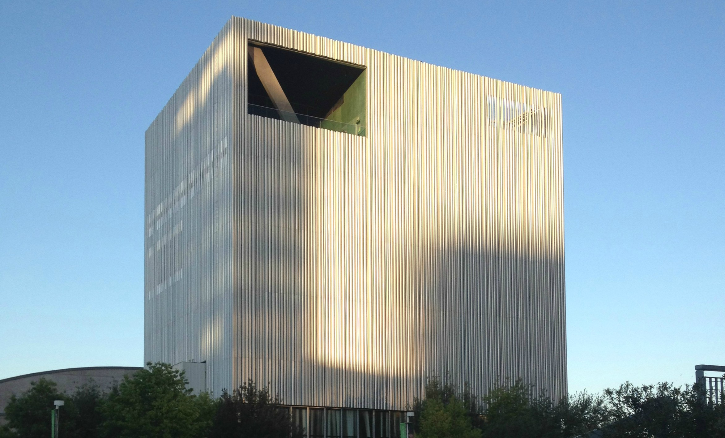 The Wyly Theatre, designed by Rem Koolhaas and Joshua Prince-Ramos. Photo: Jerome Weeks