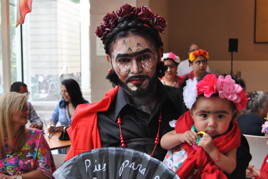 Marco Saucedo and his niece, Anna Mata, were among the hundreds of Frida fans participating in a Guinness World Record attempt for the most people dressed as the Mexican artist.