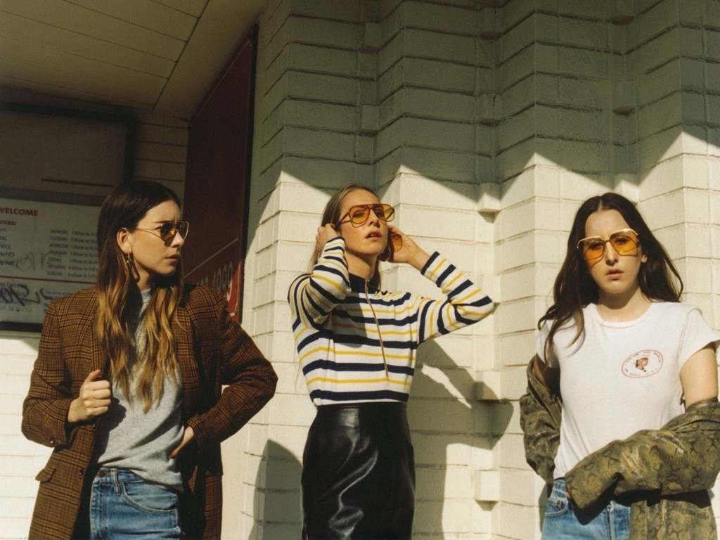 Haim's latest album, Something To Tell You, is out on Columbia Records. Photo: Courtesy of the artist
