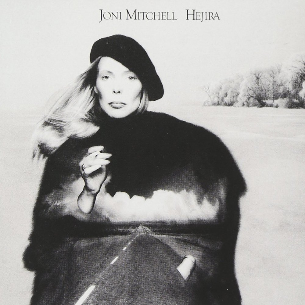 "Album cover for Joni Mitchell's ""Hejira"""