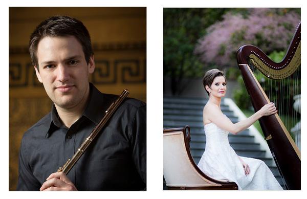 Jake Fridkis, Flute María Luisa Rayan, Harp