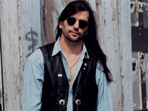Steve Earle in his 30s. Photo: Steve Earle