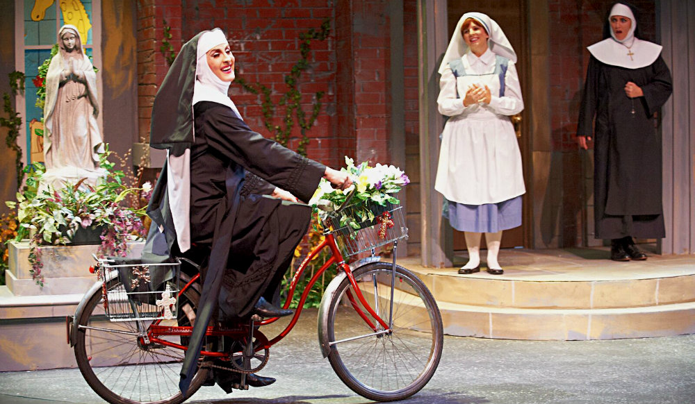 In 'The Divine Sister' at Uptown in 2012