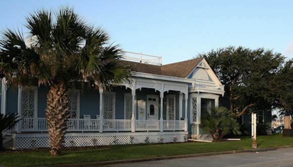 Rockport Center for the Arts (RCA), which is directly on the water and was directly in the path of the hurricane.