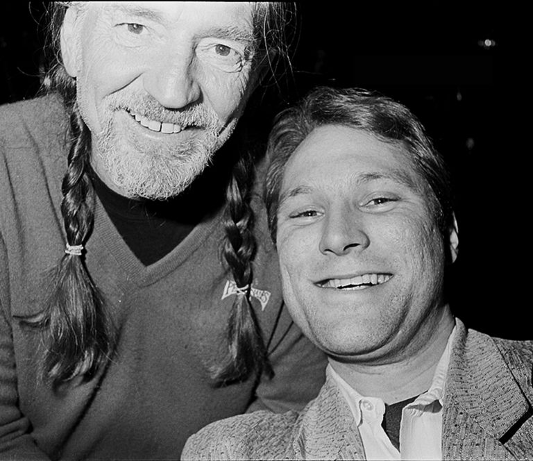 Bill Leissner with Willie Nelson Photo: Bill Leissner